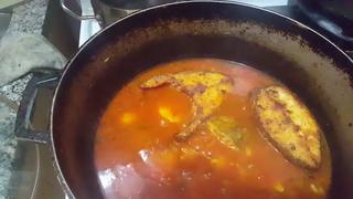 Stew seabass